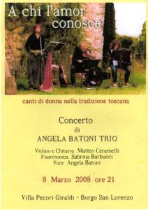 canti di donna nella tradizione toscana