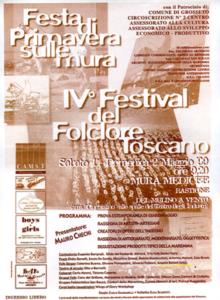 IV festival del folclore toscano